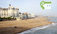 Eastbourne: Stay for Two with Breakfast and Dinner Credit at York House Hotel