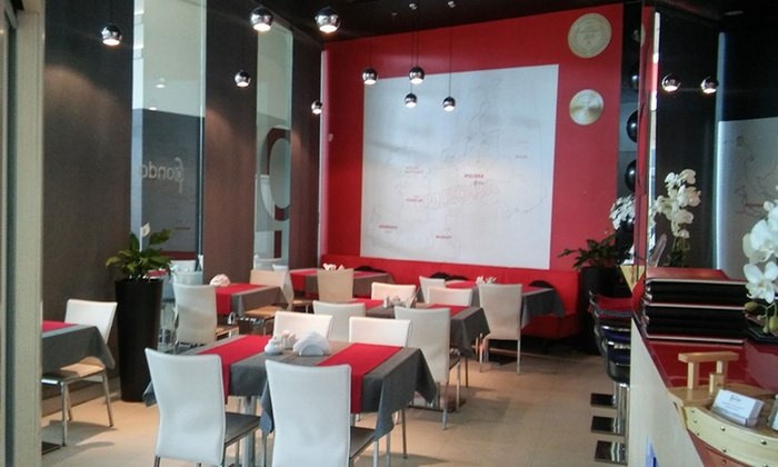 Wybrany Zestaw Sushi Z Lodami Restauracja Fondo Groupon