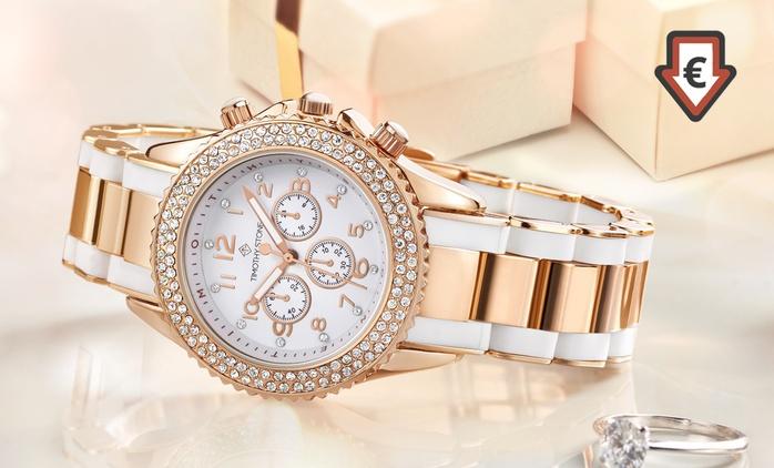 Montre Amber Timothy Stone ornée de cristaux Swarovski®, modèle au choix, à 16,99 €