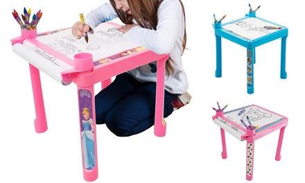 Sambro Paw Patrol, Trolls or Disney Princess Colouring Table