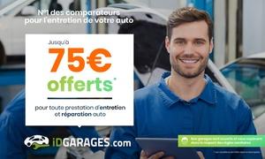 Bon d'achat valable dans plus de 4000 garages