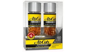 Ab Cuts Concentrated CLA Chromium Belly Fat Loss Formula (2-Pack)