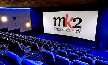 Una entrada para el cine en Mk2 Palacio de hielo (con 39% de descuento)