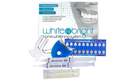 up to 93 off on teeth whitening kit 9 piece groupon goods. Black Bedroom Furniture Sets. Home Design Ideas