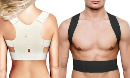 One, Two, Three or Four Magnetic Posture Support Tops