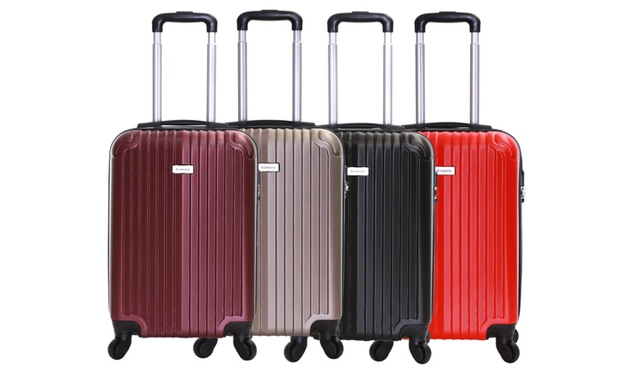 Borba Hard-Shell Cabin Trolley | Groupon Goods