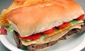 Lomitos 348 Nueva cordoba: 1 o 2 lomos completos con papas rejilla en Lomitos 348 Nva Cordoba