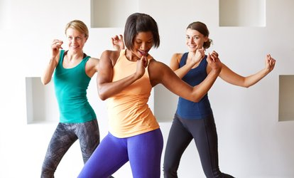 image for 10 or 20 <strong>Zumba</strong> Step and Basic <strong>Zumba</strong> Classes at <strong>Zumba</strong> (Up to 68% Off)