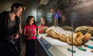 One, Two, or Four GA Mummies Exhibit and Exhibit Hall Tickets at The Houston Museum of Natural Science (23% Off)