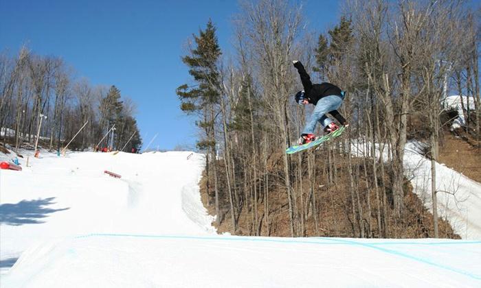 Lakeridge Ski Resort - Uxbridge: C$23 for VIP Coupon Booklet for Lakeridge Ski Resort (C$50 Value)