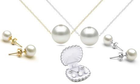 Cofanetto con cristalli Swarovski® o perle sitentiche disponibile in vari colori