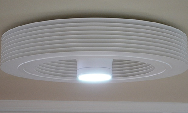Bladeless Ceiling Fan : Off for an exhale fans bladeless ceiling fan