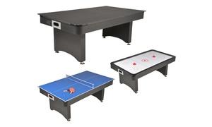 Table Multi Jeux 3-en-1 et 4-en-1