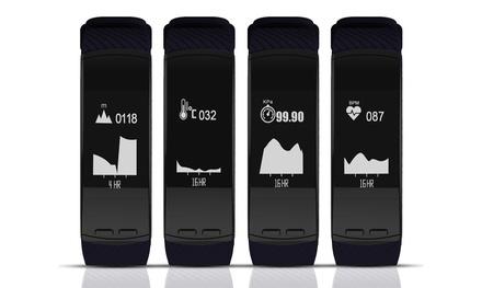 Apachie GPS-Tracker in Schwarz mit Herzfrequenzmessung und Multi-Sport-Modus inkl. Versand