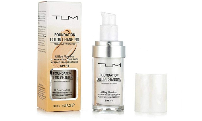 One, Two or Three Bottles of TLM Magic Colour-Changing 30ml Foundation Concealer