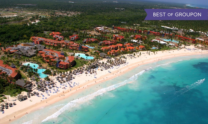 All-Incls. Tropical Princess Beach Trip w/ Air from Vacation Ex