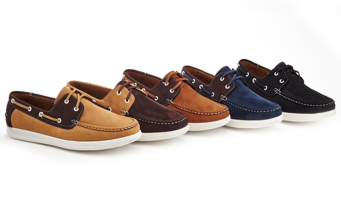 7fd84a76f2bca Up To 45% Off on Franco Vanucci Men s Boat Shoes