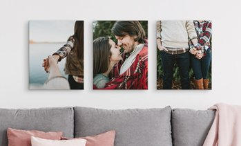 "Up to 92% Off 16x20"" Personalized Premium Thick Wrap Canvases"