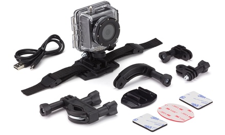 Kitvision Action Camera £34.99 with Optional Selfie Stick £39.98 With Free Delivery