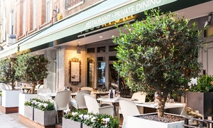 Pescatori: Lobster and Crab Burger with Truffle Chips or Two-Course Meal with Prosecco for Up to Four at Pescatori (Up to 56% Off)