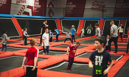 One-Hour Trampoline Park Pass for Two, Four or Six People at We are Vertigo (Up to 50% Off)