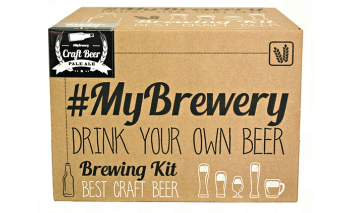 One (€59.99) or Two (€109.99) Brew Your Own Pale Ale Kits With Free Delivery (Up to 38% Off)