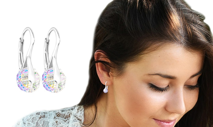 One, Two or Three Pairs of Briolette Earrings with Crystals from Swarovski® from £8.99
