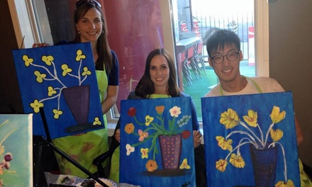 Up to 67% Off Paint Party at Paint Night Edmonton