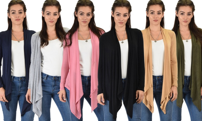 Lyss Loo Lightweight Cardigans (3-Pack)