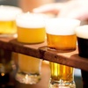 Two House Beers with Purchase of Full Flight of Beer