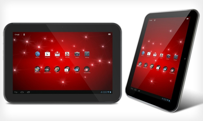 Toshiba Excite 10 Tablet: $249.99 for a 16GB Toshiba Excite 10 Tablet (Manufacturer Refurbished) ($449.99 List Price). Free Shipping and Returns.