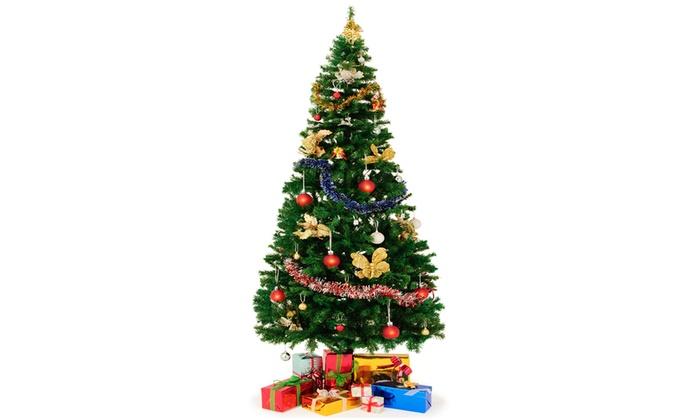Weihnachtsbaum Künstlich 240 Cm.Künstlicher Weihnachtsbaum 240 Cm Mit Ständer