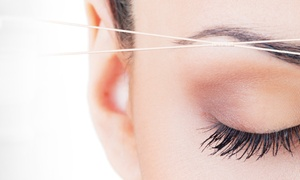Z/M lash &brow bar: $4 Off $10 Worth of Eyebrow Shaping