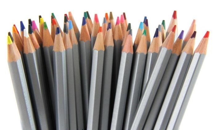 High-Quality Artist-Grade Watercolor Colored Pencil Set (48-Piece)