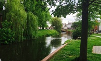 Two-Course Meal for Two Overlooking River Welland at The Lincolnshire Poacher (Up to 52% Off)