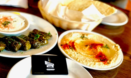 Up to 63% Off on Customizable Food and Drink at Eighth & Fork Membership Dining