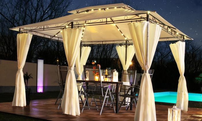 Illuminazione a led per gazebo: illuminazione giardino led idee