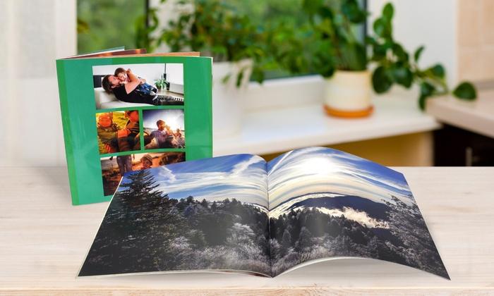 Personalisierbares Fotobuch als Softcover oder Hardcover mit 20 oder 40 Seiten von PhotobookShop (bis zu 92% sparen*)