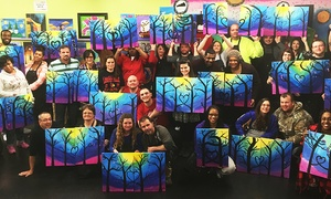 Masterpiece Mixers - Louisville: Painting Class for One or Two at Masterpiece Mixers (Up to 32% Off)