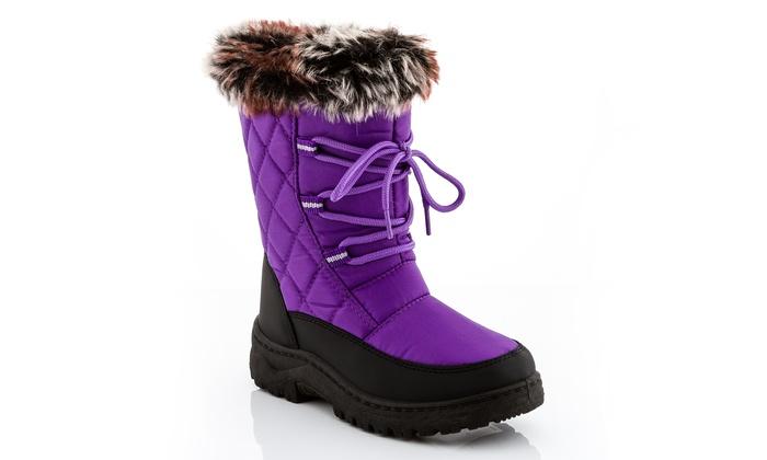 Snow Tec Blizz 3 Snow Boots (Size 5) | Groupon