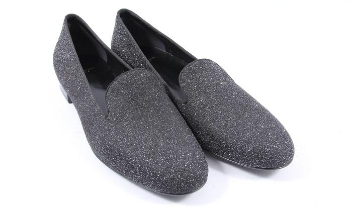 YSL Glitter Smoking Slippers   Groupon Goods