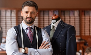 Luxury Plus: Custom-Tailored Shirt ($49) Plus Wool Trousers ($109), or Bespoke Suit ($329) at Luxury Plus (Up to $749 Value)