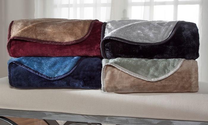 All Seasons Reversible Micro-Fleece Blankets
