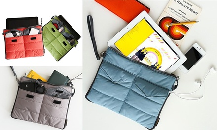 Tablet and Accessory Organiser: One $12 or Two 19