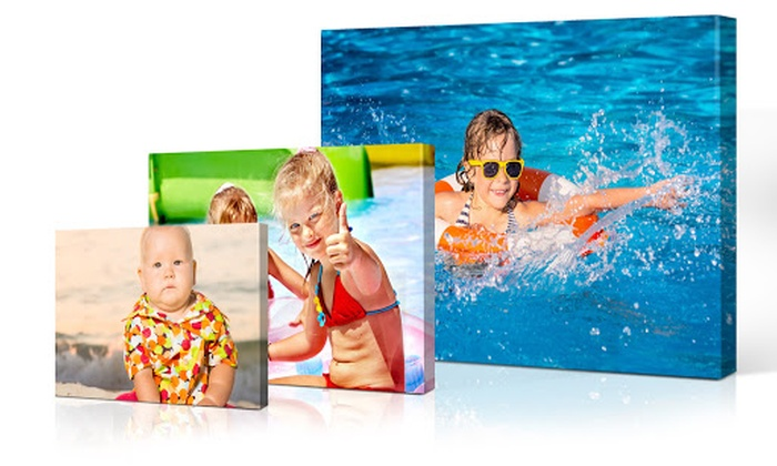 Personalised Canvas in a Choice of Size from Printerpix (Up to 73% Off)