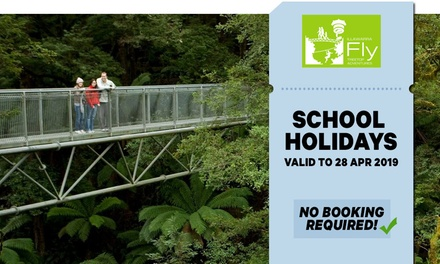 Treetop Adventure Walk for Child ($13.50) or Adult ($22.50) at Illawarra Fly (Up to $25 Value)