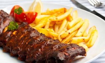 Onbeperkt spareribs met friet en salade bij Wapen van Langweer voor 28 personen