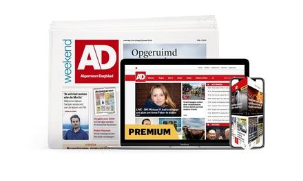 Ontvang 10, 12 of 14 weken het AD, je abonnement stopt automatisch