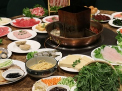 Asian-Fusion Hot Pot Meal with Drinks for Two or Four at Private Party Restaurant (Up to 38% Off)