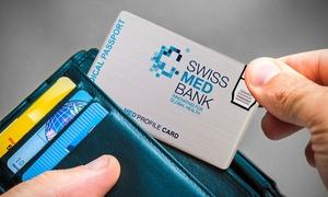 Swiss Medbank: Medical Passport Gold Paket für ein, drei oder fünf Jahre mit Swiss Medbank (bis zu 59% sparen*)